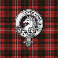 Cunningham Scottish Clan Badge and Tartan