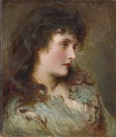 George Elgar Hicks 1824-1914 MAUD MULLER