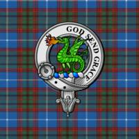 Crichton Scottish Clan Badge and Tartan