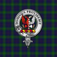"""Boyle Scottish Clan badge and Tartan"" by ivycreekstudio"