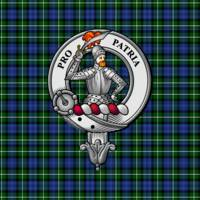 Bannerman Scottish Clan Badge and Tartan