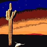 Desert Sunrise Art Prints & Posters by Dave Gafford