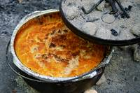 Dutch Oven Peach Cobbler 01