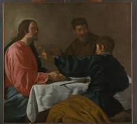 The Supper at Emmaus , Velázquez (Diego Rodríguez