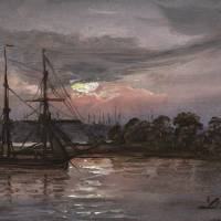 """Johan Christian Clausen Dahl (Bergen 1788 - 1857 D"" by motionage"