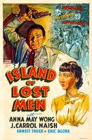 The American film poster for Island of Lost Men, A