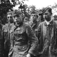 """German boy soldiers of the Waffen SS, taken prison"" by motionage"