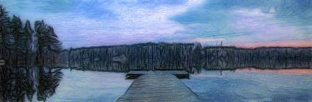 Calm Dock - ID 16217-152035-6196
