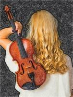Violin woman - ID 16218-130709-0128
