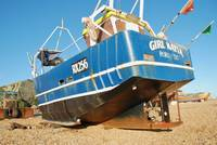 Hastings fishing boat