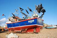 Fishing boat, Hastings