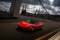Ferrari on Chelsea bridge
