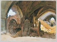 Wheels in Vault, John Singer Sargent