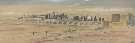Edward Lear (London 1812-1888 San Remo) Sant' Anto