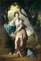 Johan Zoffany - Mrs Woodhull, Tate Britain