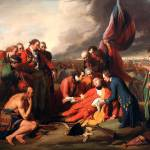 """The Death of General Wolfe B.West,1770"" by motionage"