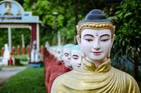 Hpa-An Statues