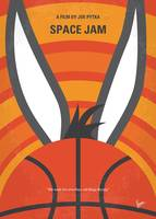 No690 My Space Jam minimal movie poster