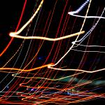 """Abstract Squiggles-Tail Lights"" by Acedarter"