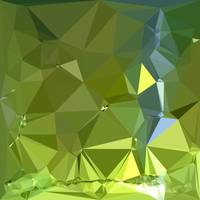 Chartreuse Green Abstract Low Polygon Background