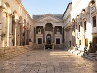 Peristyle in Split