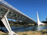 Sundial Bridge Redding California 268