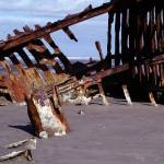 """Shipwreck of the Peter Iredale 067"" by Wintercreeks"