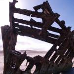 """Shipwreck of the Peter Iredale 070"" by Wintercreeks"