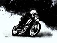 The Vintage Motorcycle Racer