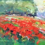 """Field of Poppies"" by RandallScottHarden"