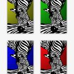 """Zebra Collage"" by gabii40"