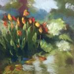 """""""orange cannas"""" by KarenVanderpool"""