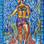 """Graffiti Bear King"" by RDRiccoboni"