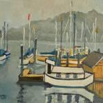 """Houseboat of the Fugitive"" by Holewinski"