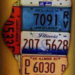 """Illinois in Plates"" by BlueFrogPhotography"