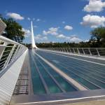 """Sundial Bridge Redding California 034"" by Wintercreeks"