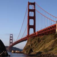 Golden Gate Bridge San Francisco 006 by Richard Thomas