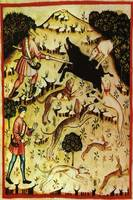 Anonymous -  Boar Hunt - 14th century