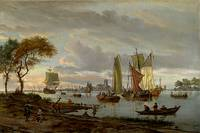 Abraham Storck  - River View 1697