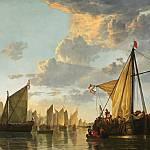 """""""Cuyp - Maas at Dordrecht 1652 (2)"""" by AllenGraihCompany"""