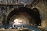 Hubert Robert - 1768 The River Bievre