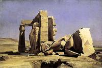 Gleyre - Egyptian Temple 1840
