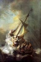 Rembrandt -  storm on the sea of Galilea 1633