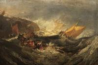 Turner - Shipwreck of the Minotaur 1814