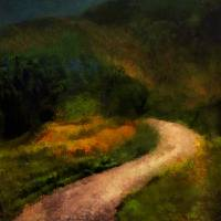 Autumn Road Art Prints & Posters by RC deWinter
