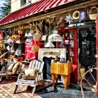 New Hope PA Antique Shop Art Prints & Posters by Susan Savad