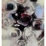 """Death of roses"" by darkartoflife"