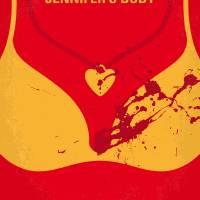 No698 My jennifers body minimal movie poster Art Prints & Posters by Chungkong Art
