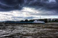 Barge in the Storm
