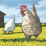 """Hens"" by wolodko"
